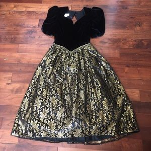 Dresses & Skirts - AWESOME 80's Prom Party Dress Vintage Gown